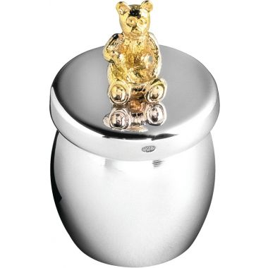 Carrs Silver Bear Tooth Box