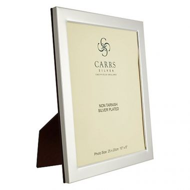 "Carrs Photo Frame Silver 10"" x 8"""