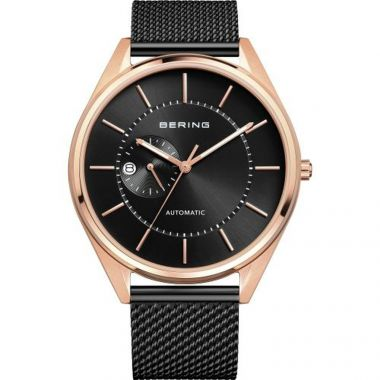Bering Automatic Stainless Steel Black 43mm