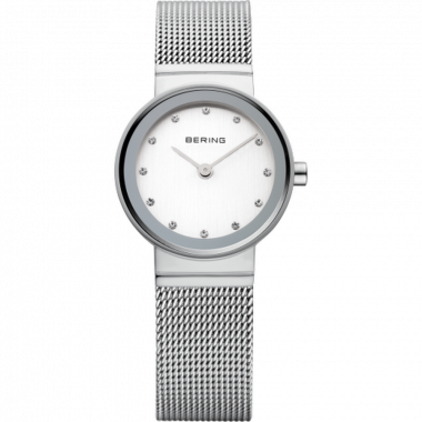 Bering Classic Silver Ladies 22mm