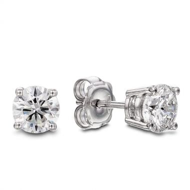 Diamond 0.50ct Stud 18ct Earrings