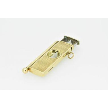 Cigar Cutter 9ct Yellow Gold