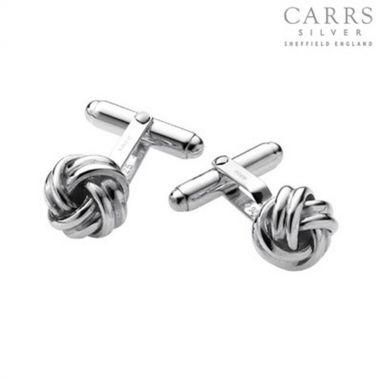 Knot Silver Cufflinks