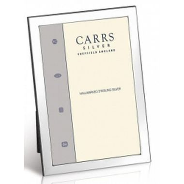 "Carrs Photo Frame Silver 8"" x 6"""