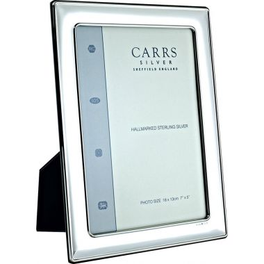 "Carrs Photo Frame Silver 7"" x 5"""