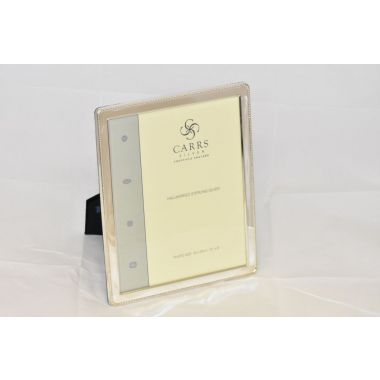 Carrs Photo Frame Silver 10' x 8'