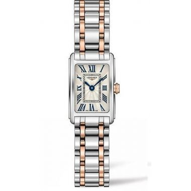 Longines DolceVita Steel & Rose 27mm