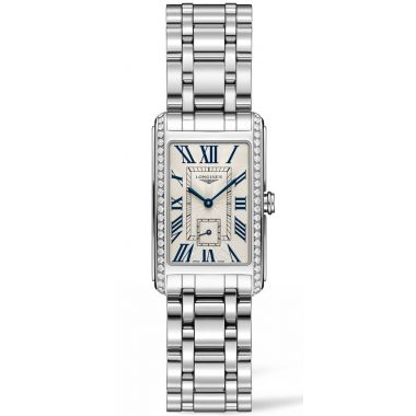 Longines DolceVita Steel Diamonds 37mm
