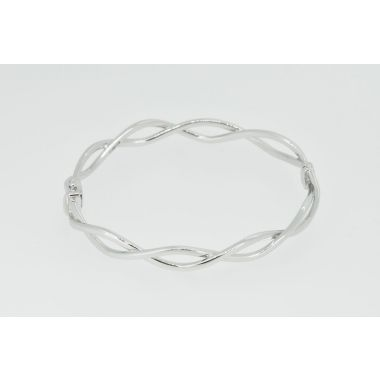 Twist Style 9ct Bangle