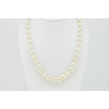 "Single Row 8.5-9mm Cultured 18"" Pearls"