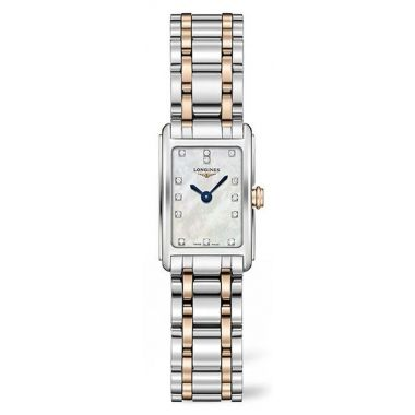 Longines DolceVita Steel and Rose 27mm