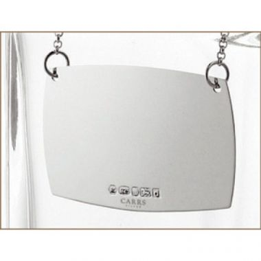 Carrs Silver Decanter Label
