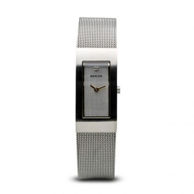 Bering Classic Brushed Silver 17mm