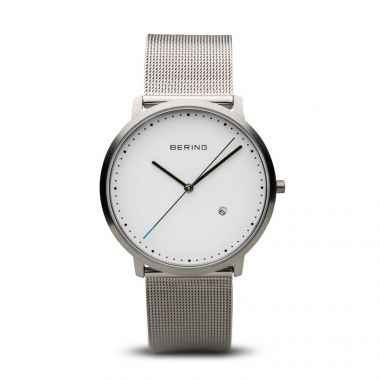 Bering Classic Brushed Silver 39mm