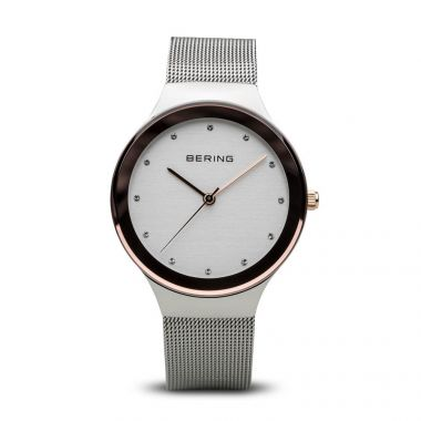 Bering Classic Polished Silver 34mm