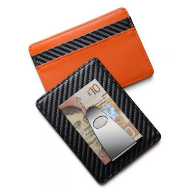 Dalvey Credit Card & Money Clip Orange