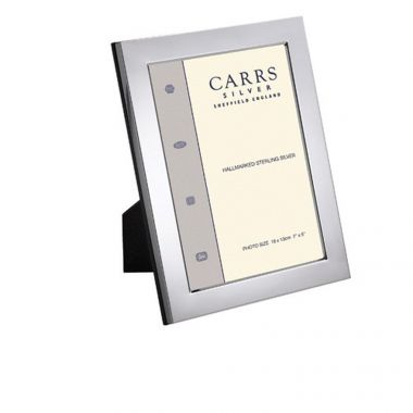 Carrs Flat Frame 10x8 Silver Plated