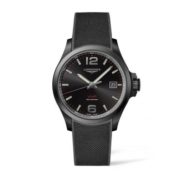 Longines Conquest V.H.P Black 43mm