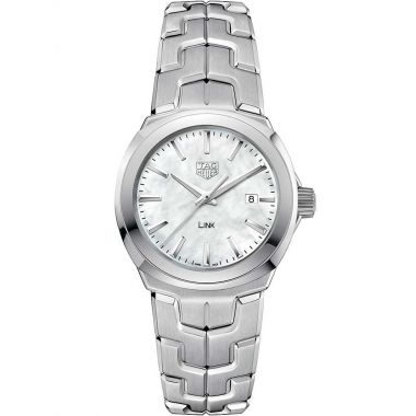 Tag Heuer Link Ladies Mother Of Pearl Dial 32mm