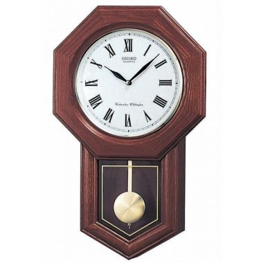 Seiko Hexangonal Wall Clock