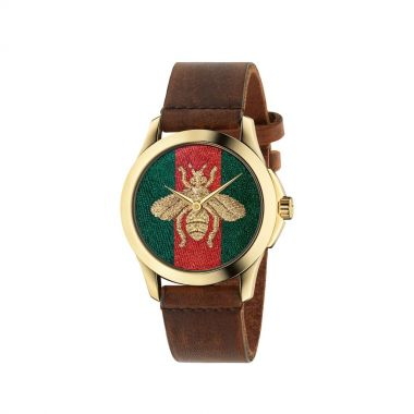 Gucci Honey Bee Gold PVD Watch 38mm