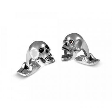 Deakin & Francis Skull Head Cufflinks