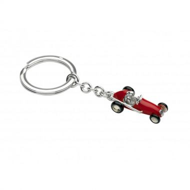 Deakin & Francis Sterling Silver Racing Car Key Ring