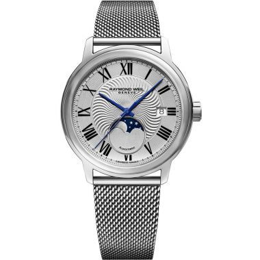 Raymond Weil Maestro Moon Phase Steel 40mm