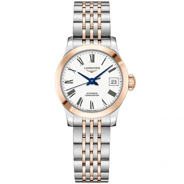 Longines Record Ladies Two-Tone Automatic 26mm