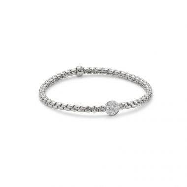 Fope EKA Tiny 18ct White Bracelet