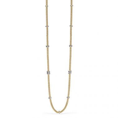 Fope Flex'It Prima 18ct Yellow 90cm Necklet