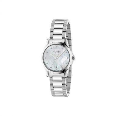 Gucci G-Timeless Diamond Ladies Watch 27mm