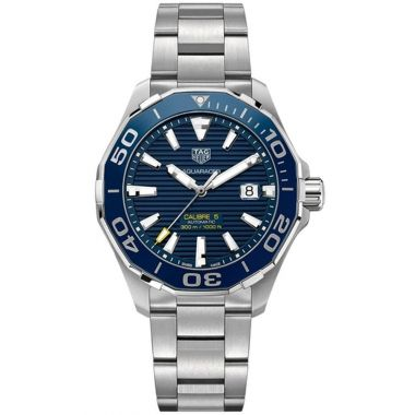 Tag Heuer Aquaracer Blue Calibre 5 43mm