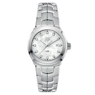 Tag Heuer Link Ladies MOP Diamond Dial 32mm