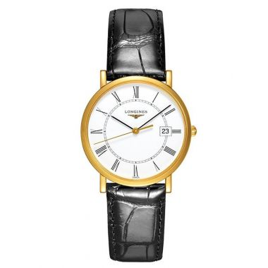 Longines Presence Quartz Gold 34mm
