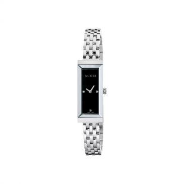 Gucci G-Frame Black Dial Ladies Watch 17mm