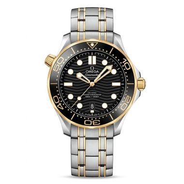 Omega Seamaster 300m Yellow Black 42mm
