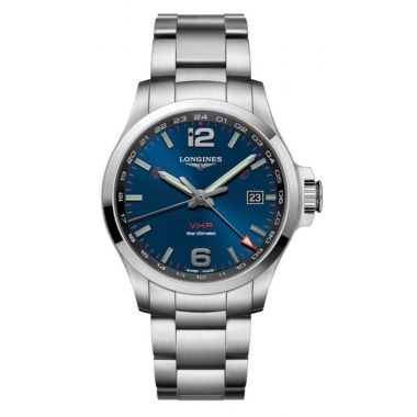 Longines Conquest V.H.P Blue GMT 43mm