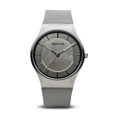 Bering Classic Brushed Silver 38mm