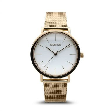 Bering Classic Polished Gold 36mm