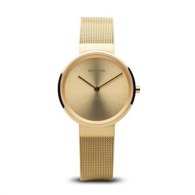 Bering Classic Polished Gold 33mm