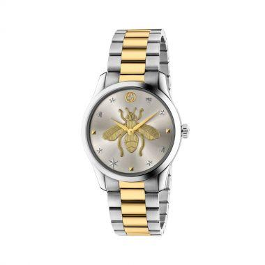Gucci G-Timeless Bee Motif Bracelet Watch 38mm
