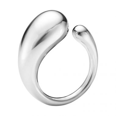 Georg Jensen Mercy Ring, Sterling Silver, Large