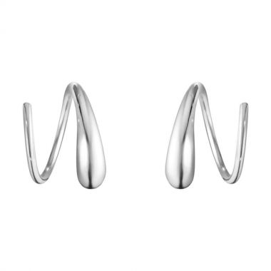 Georg Jensen Mercy Swivel Earrings, Sterling Silver