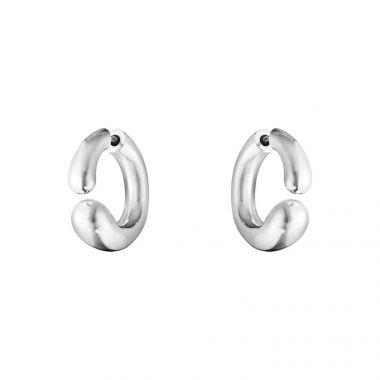 Georg Jensen Mercy Open Earhoop, Sterling Silver