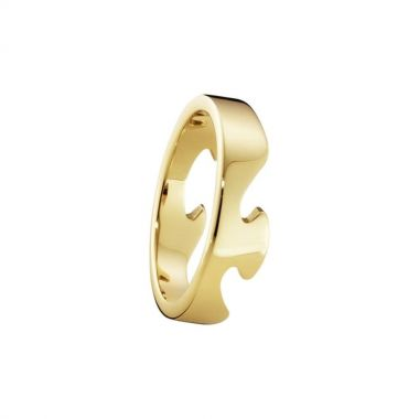 Georg Jensen Fusion End Ring, 18ct