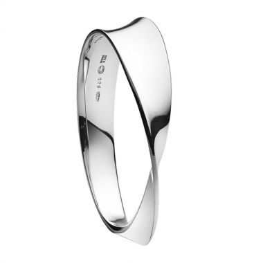 Georg Jensen Mobius Bangle, Sterling Silver