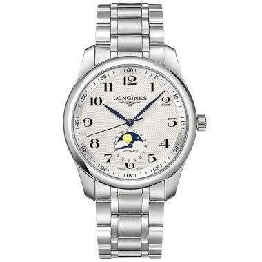Longines Master Collection Moonphase Steel 40mm