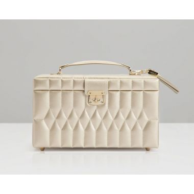 Wolf Caroline Medium Champagne Jewellery Box
