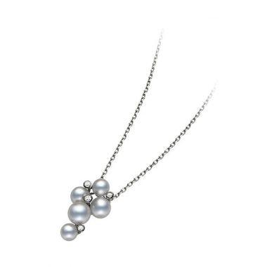 Mikimoto Bubble Pendant - White Gold